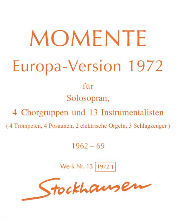 Errata MOMENTE Europa-Version 1972