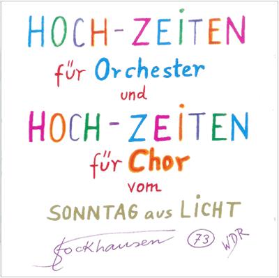 HOCH-ZEITEN für Chor und Orchester